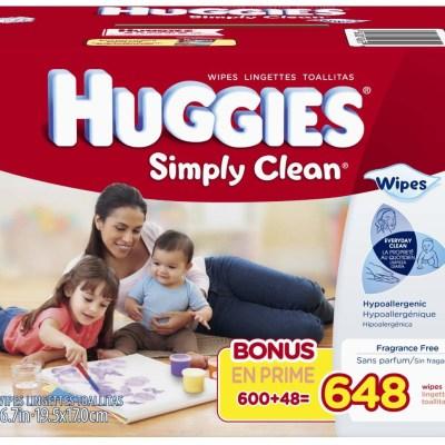 Huggies Wipes Coupon + Amazon Deal!