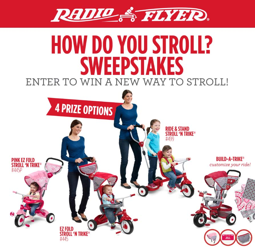 radio Flyer Sweeps