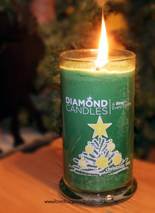 Diamond Candle Pine