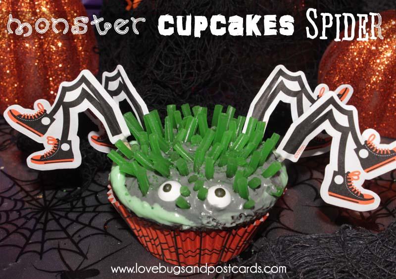 Monster Cupcakes {Alien, Skeleton, Pumpkin, Mummy and more|