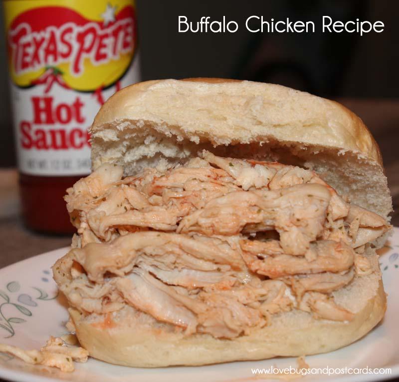 Buffalo Chicken Recipe (with Texas Pete Hot Sauce)