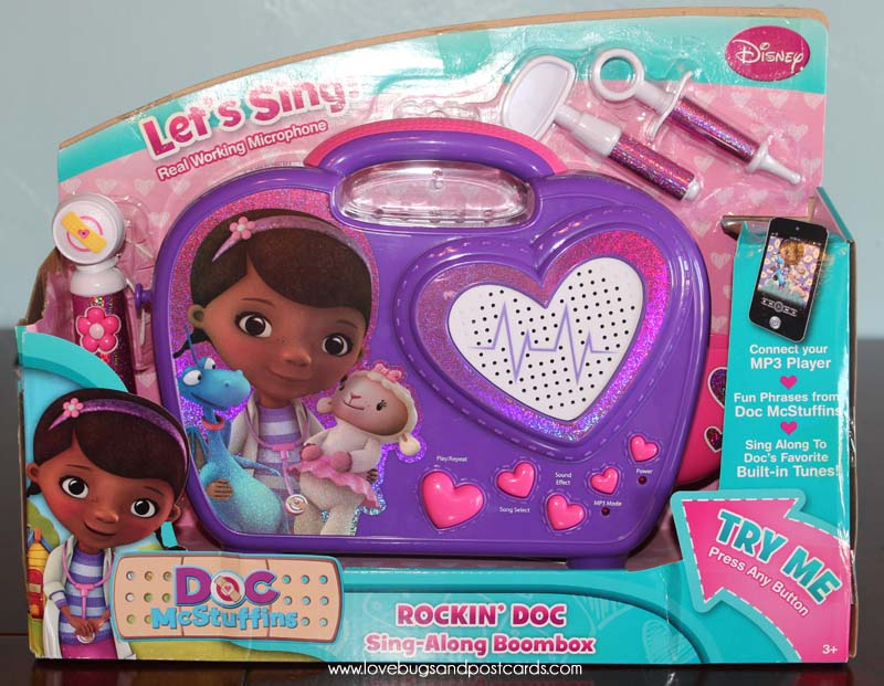 Doc McStuffins 'Rockin Doc' Sing-Along BoomBox Review