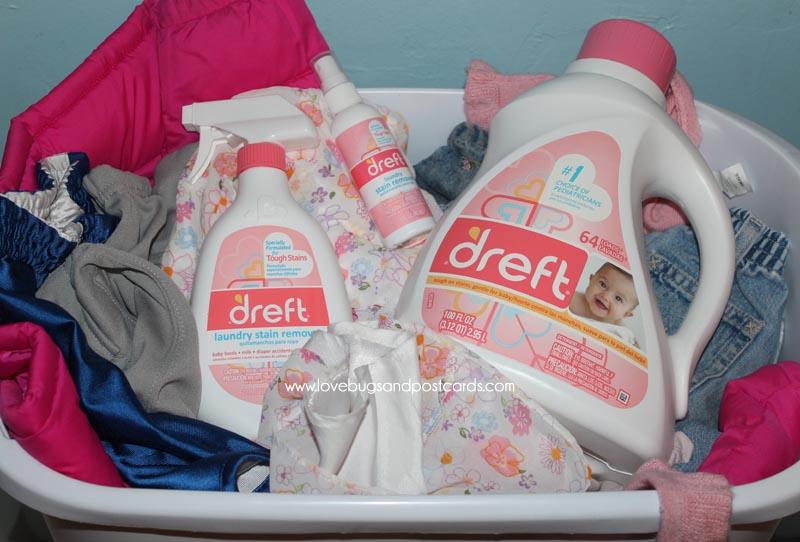 Dreft for babies sensitive skin