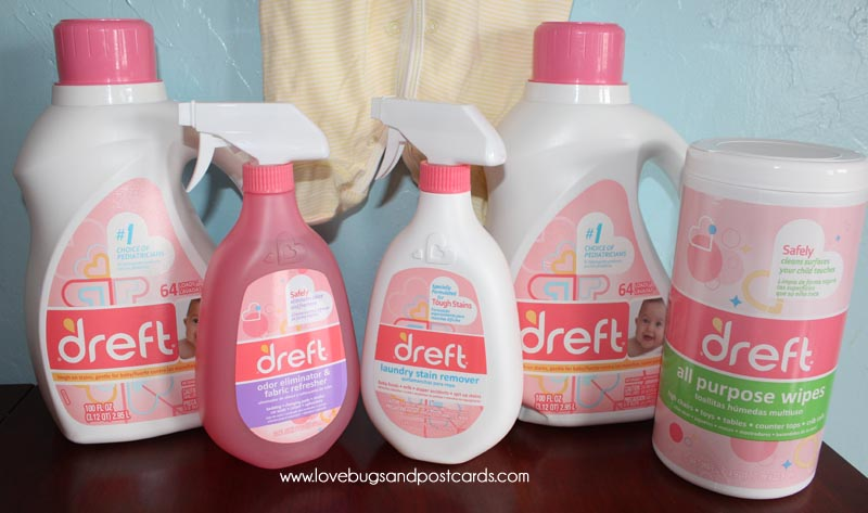 Dreft for babies sensitive skin