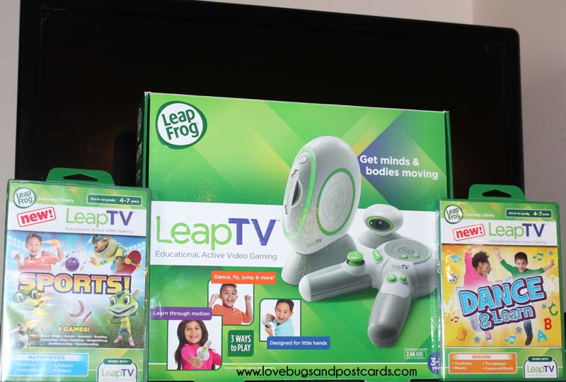 Keep your kids active and learning with the fun new LeapTV from LeapFrog! #LeapTV #MommyParties