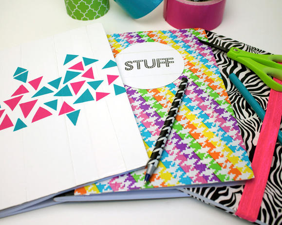 Back to School Duck® Tape Notebooks
