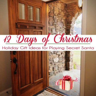 12 days of Christmas Holiday Gift Ideas