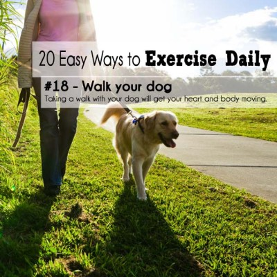 20 Easy Ways to Exercise Daily