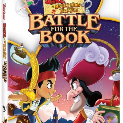 Jake And The Neverland Pirates – Battle for The Book DVD + Activity Sheets