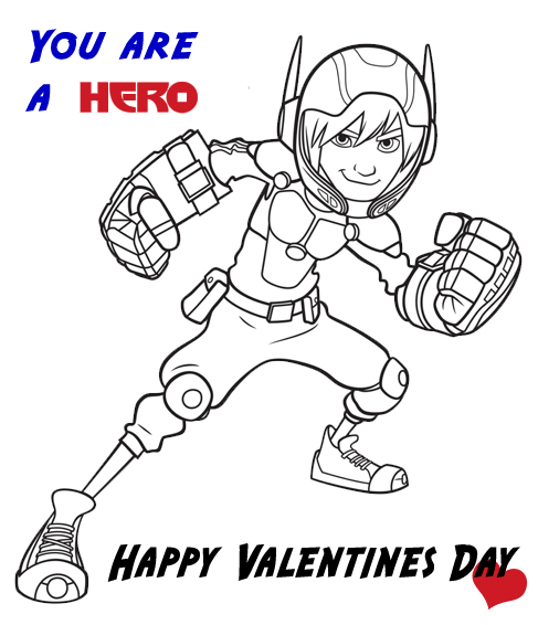 Hiro Valentines Day Card