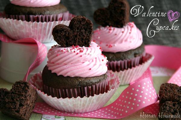 Valentine Cupcakes Ideas For Kids