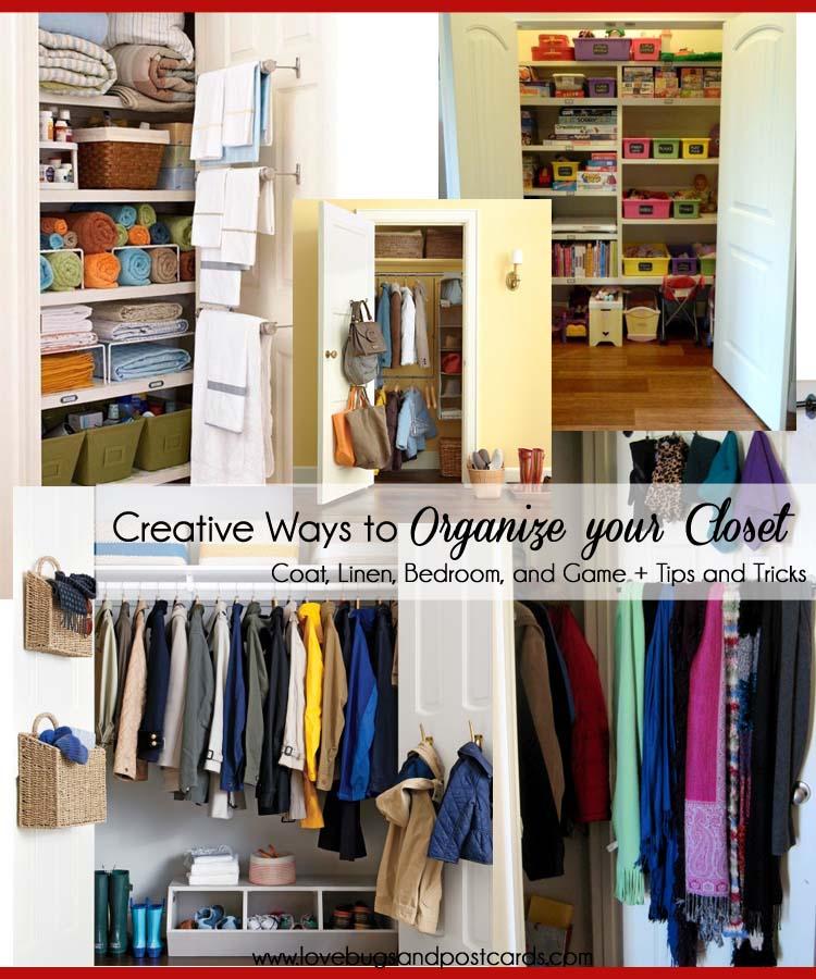 Creative Ways to Organize your Closet