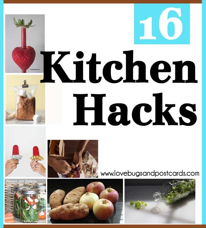 16 Kitchen Hacks
