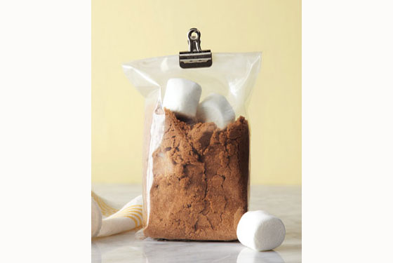 Store your brown sugar with marshmallows to keep it from getting hard