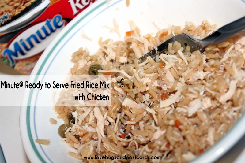 Quick lunch idea with Minute® Ready to Serve Rice