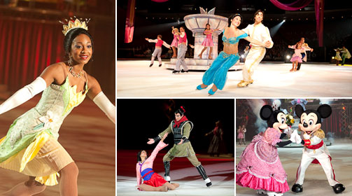Disney On Ice Let's Celebrate in Salt Lake City 3/4-8