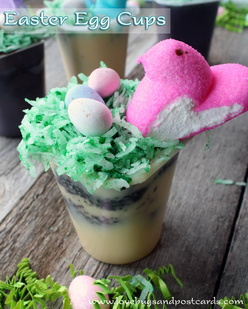 Easter Egg Cups Treat