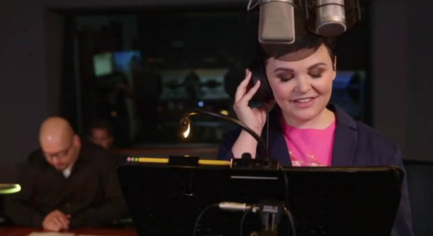 Ginnifer Goodwin doing the voice of Fawn in Disney's Tinkerbell and the Legend of the Neverbeast