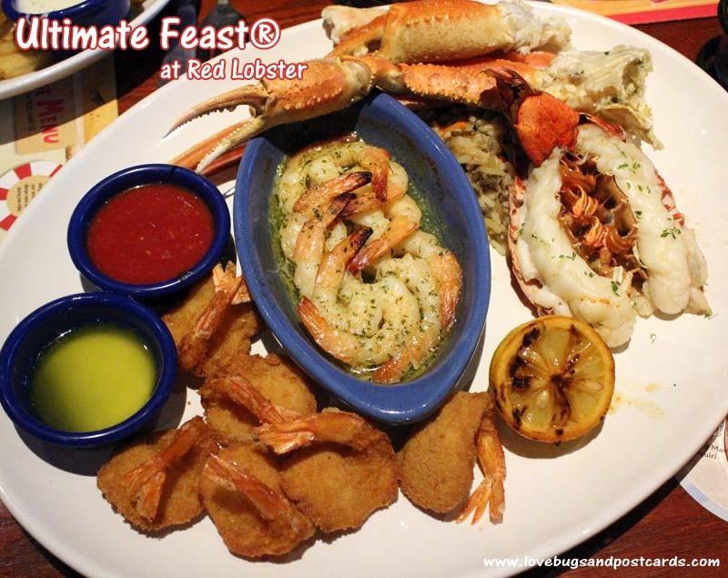 Red Lobster Ultimate Feast #Lobsterworthy