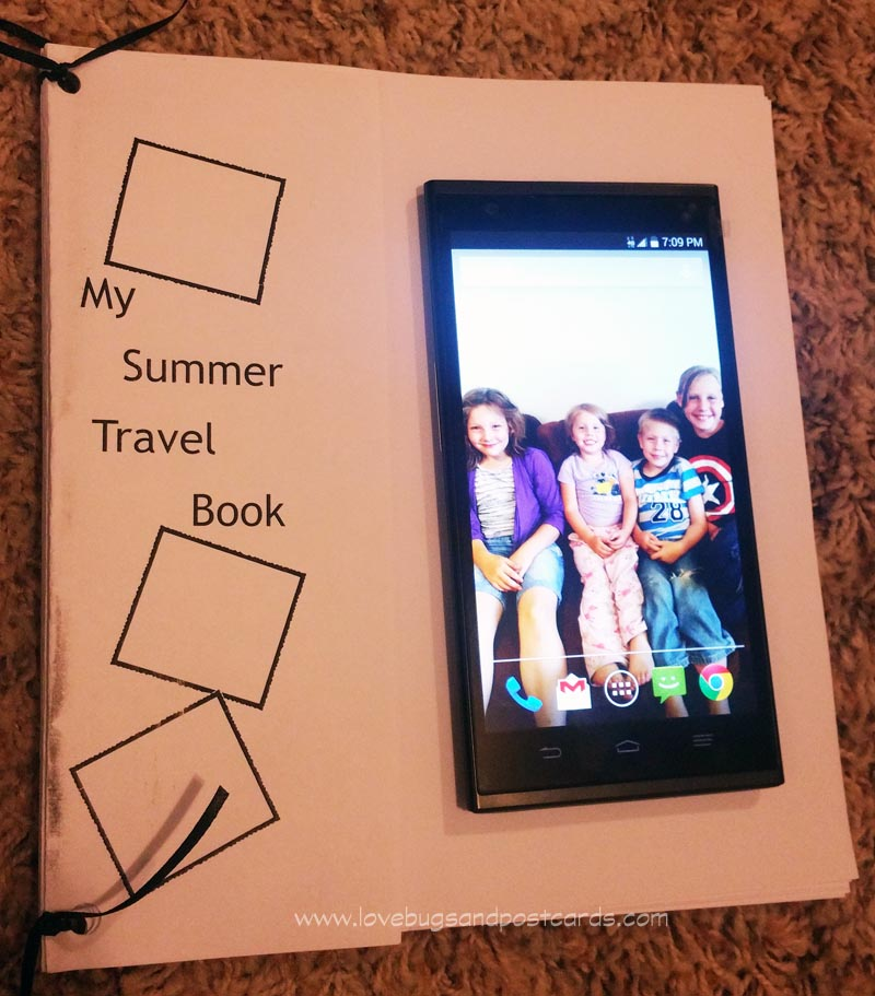 Printable Summer Travel Memory Book + 10 tips for documenting your trips