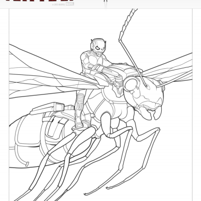Marvel's ANT-MAN Coloring Pages
