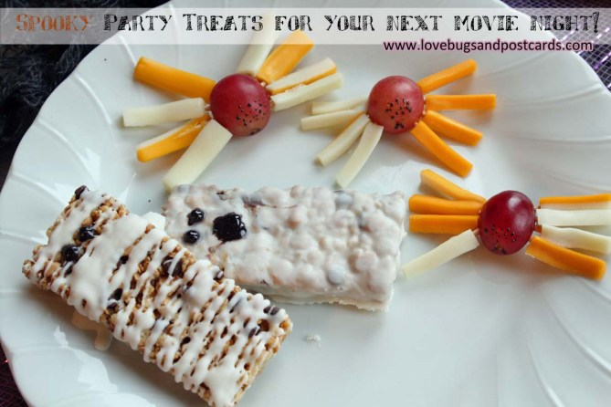 Spooky Party Treats for your next movie night!