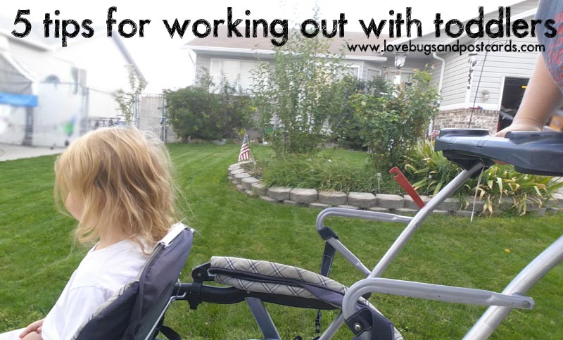 5 tips for working out with toddlers