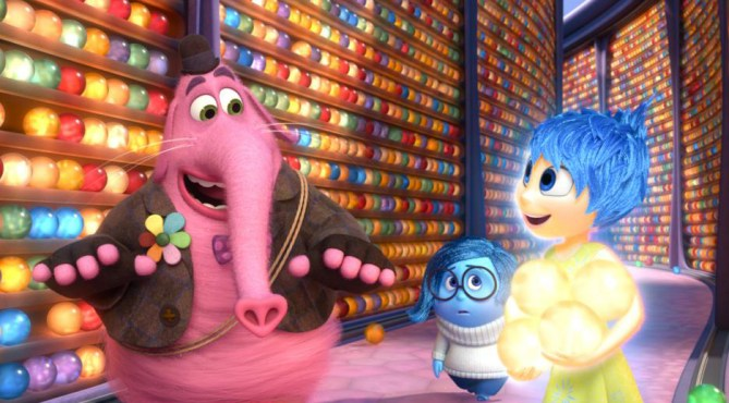 Bing Bong, Sadness and Joy from Inside Out