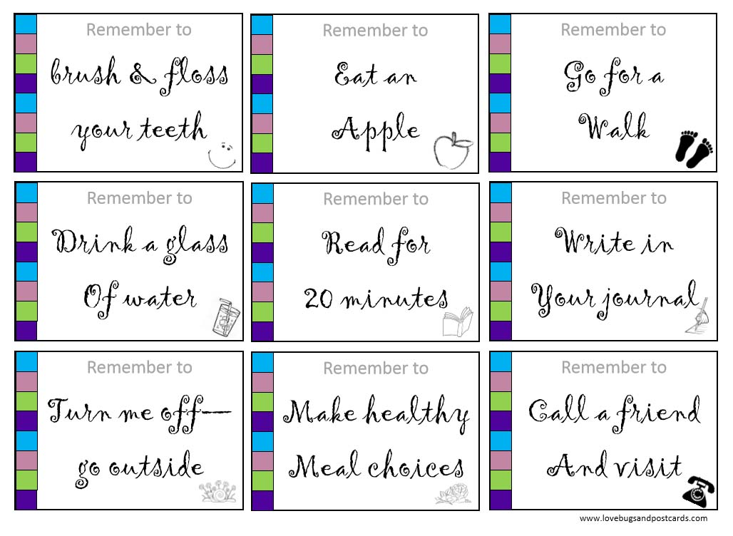 9 easy steps to a healthier lifestyle (with free printable)