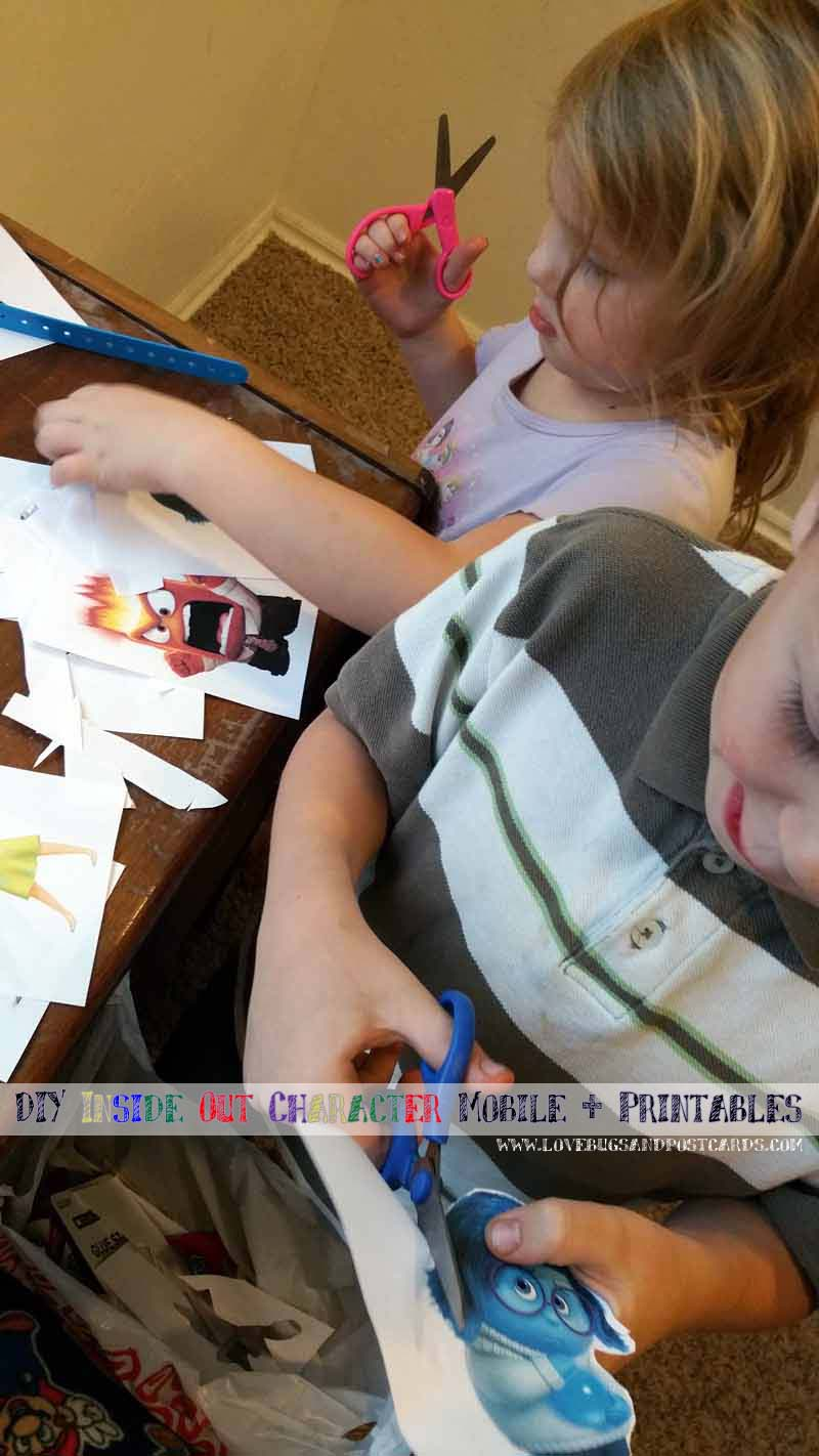 DIY Inside Out Mobile + Printables