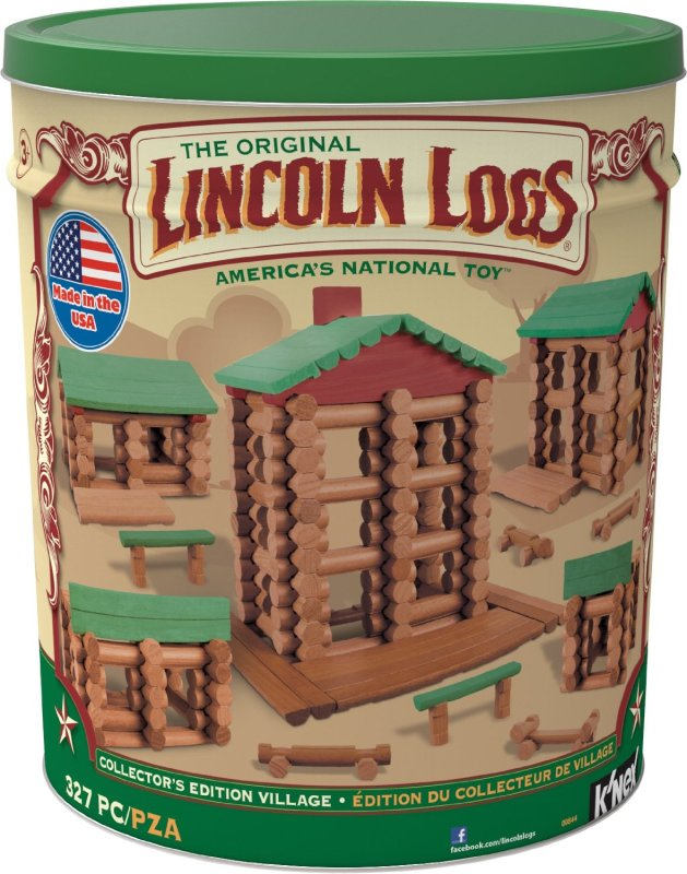 Lincoln Logs Collector's Edition Village Building Set Review