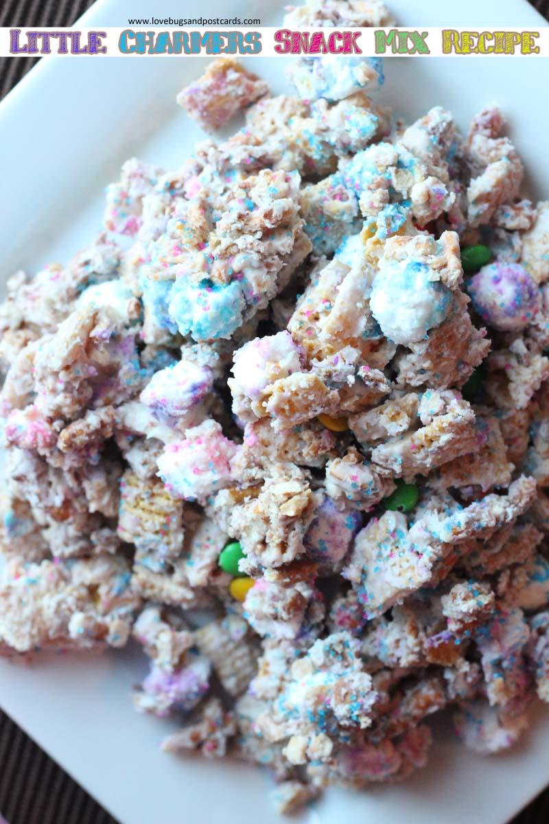 Little Charmers Snack Mix Recipe #LittleCharmers