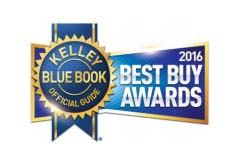 2016 Kelley Blue Book Best Buy Awards Even