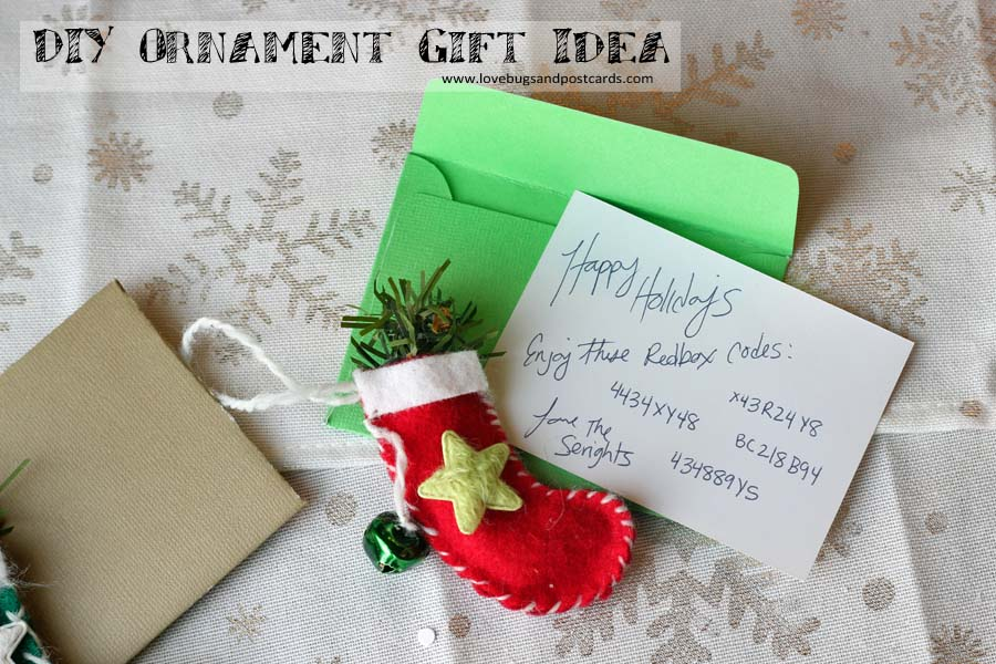 DIY Ornament Gift Idea