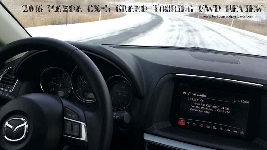 2016 Mazda CX-5 Grand Touring FWD Review
