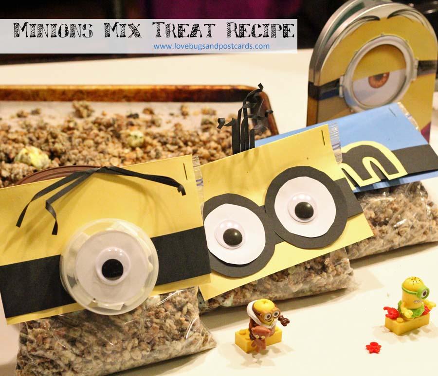 Minions Mix Treat Recipe for movie night fun