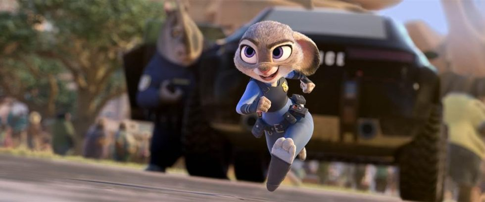 "Disney's ZOOTOPIA trailer (ft. ""Try Everything"" song) #Zootopia"