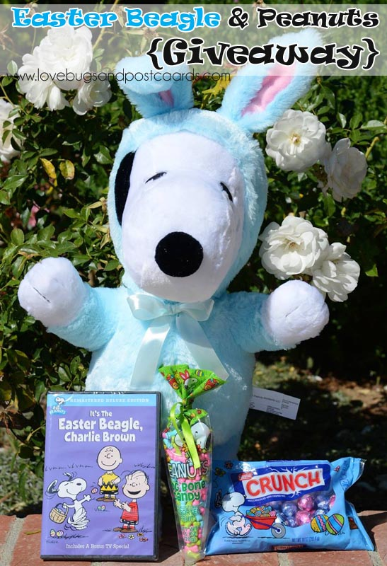 Celebrate Easter with the Easter Beagle & Peanuts {Giveaway}