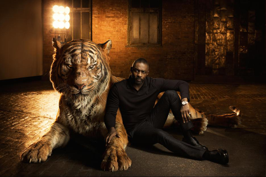 Idris Elba as the voice of Shere Khan in Disney's The Jungle Book