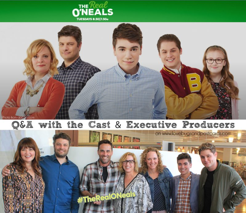 Q&A with #TheRealONeals #ABCTVEvent #CaptainAmericaEvent
