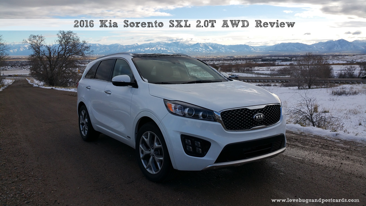 2016 Kia Sorento SXL 2.0T AWD Review