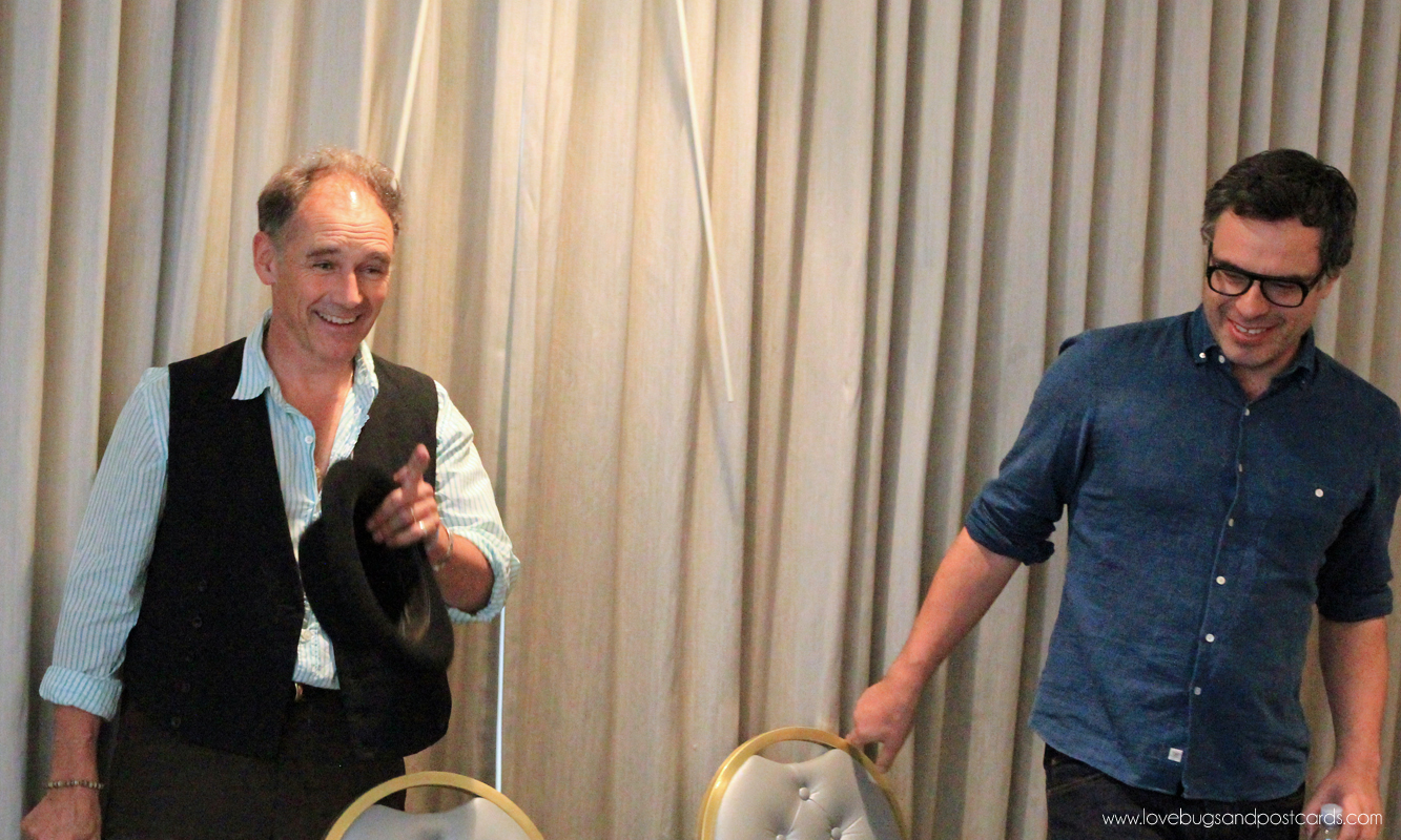 Interview with Mark Rylance and Jemaine Clement for Disney's The BFG #TheBFGEvent