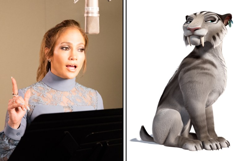 Jennifer Lopez as the voice of Shira