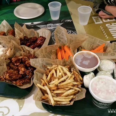 Wingstop Restaurant Review + FREE Wings Coupons Giveaway