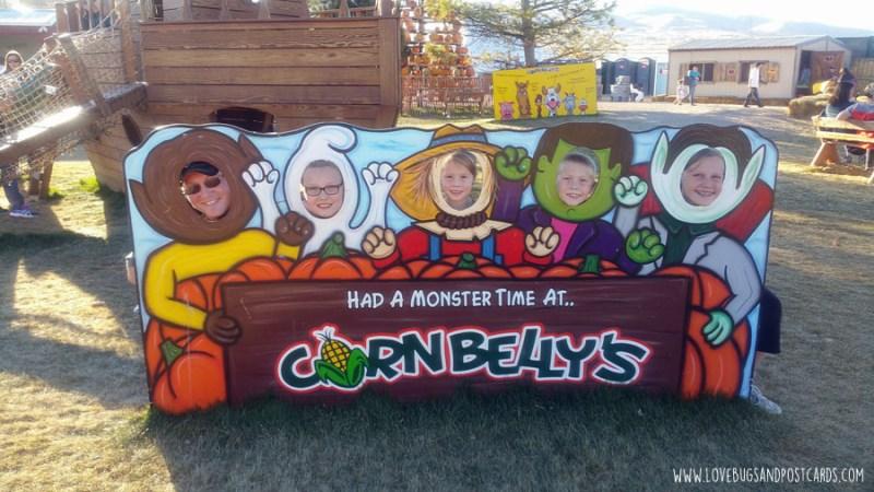 Cornbelly's Corn Maze at Thanksgiving Point