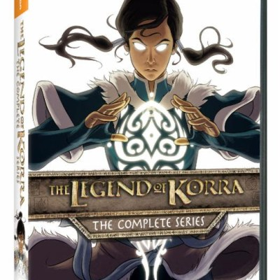 Nickelodeon's The Legend of Korra: The Complete Series, available on DVD and Limited Edition Blu-ray today!