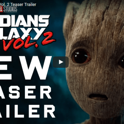 Marvel's Guardians of the Galaxy Vol. 2 Teaser Trailer #GotGVol2