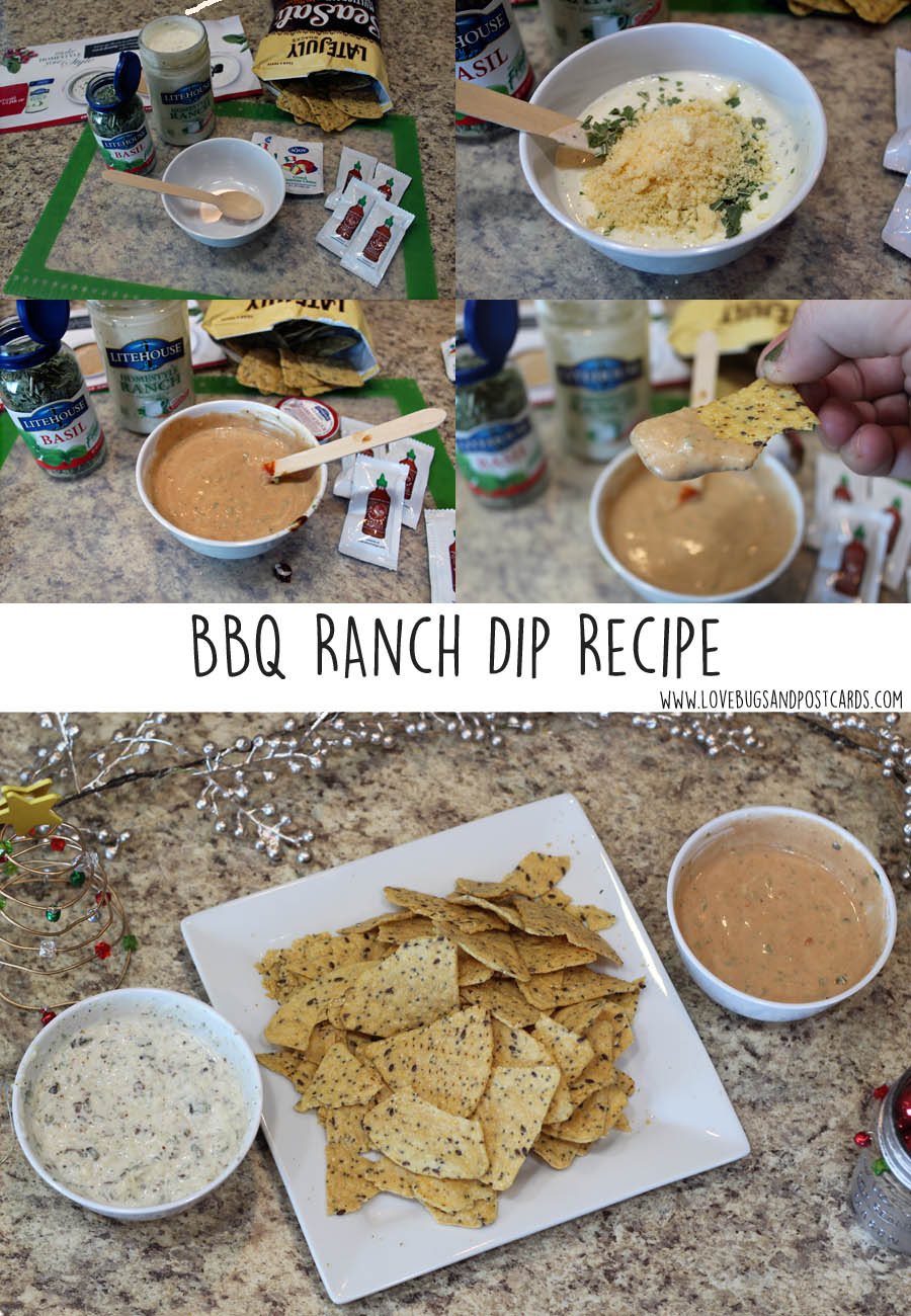 BBQ Ranch Dip Recipe