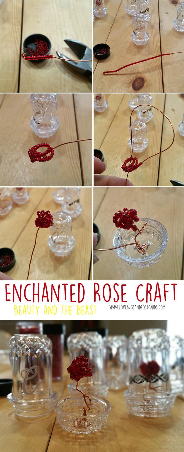 Enchanted Rose Bead Craft