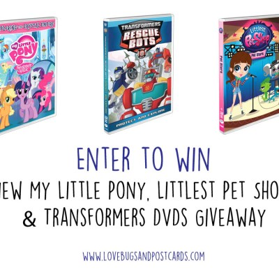 New My Little Pony, Littlest Pet Shop, & Transformers DVDs + Giveaway